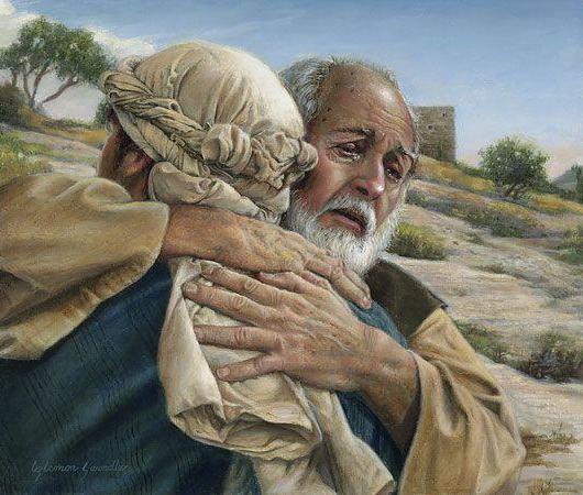 Kom als de verloren zoon tot een liefhebbende Vader