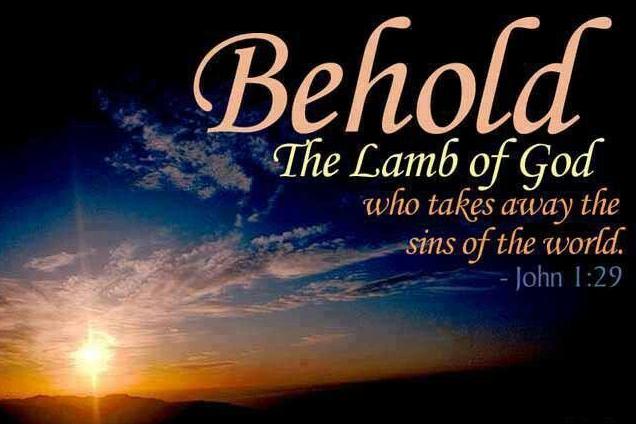 'Zie het Lam van God, dat de zonde van de wereld wegneemt!'