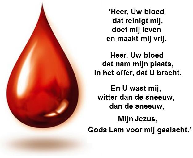 Heer Uw bloed dat reinigt mij