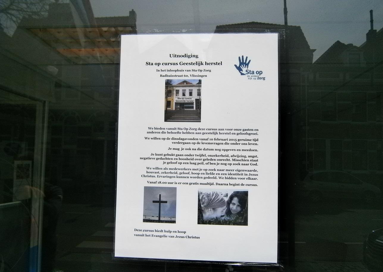 Uitnodiging Sta op cursus Geestelijk herstel