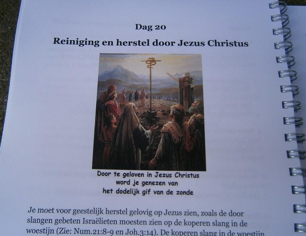 Heb je al reiniging en herstel gevonden, door te zien op Jezus?