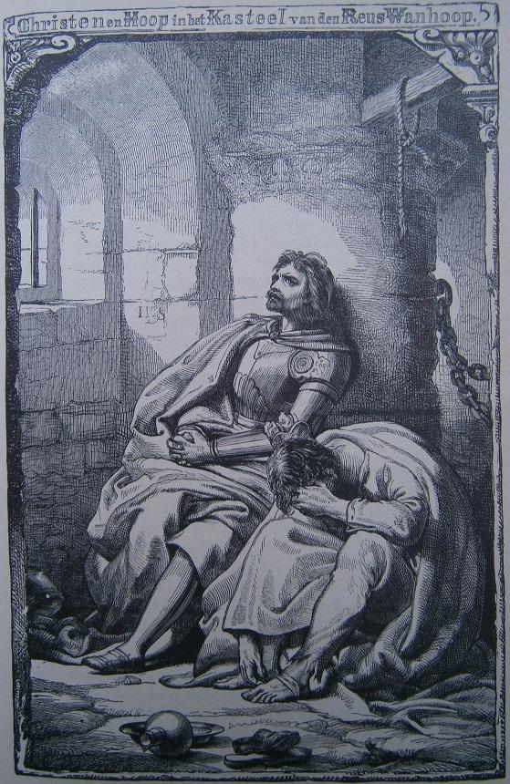 Christen en Hoop in de kasteelkerker van reus Wanhoop