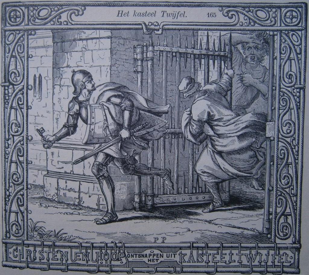 Christen en Hoop ontsnappen uit kasteel Twijfel