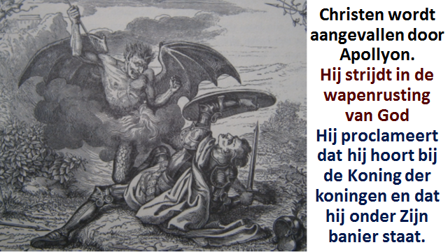 Christen aangevallen door Apollyon