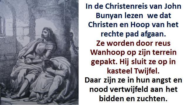 Christenreis Bunyan In kasteel twijfel