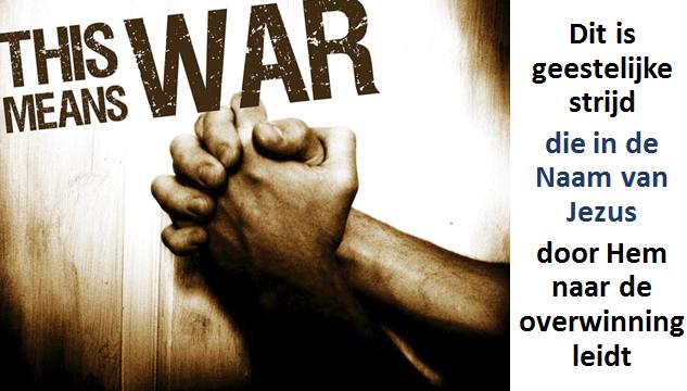 Geestelijke strijd en het gebed