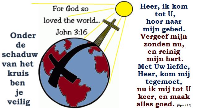 Heer ik kom tot U 1a Zo lief had God de wereld