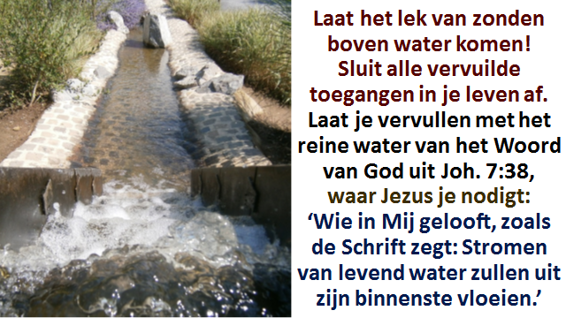 Sponsserie 6f Stromen van levend water