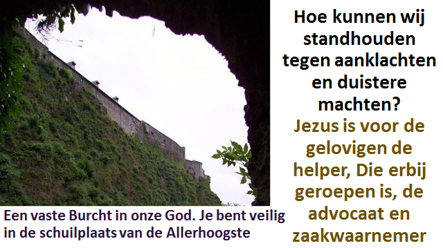 Jezus is de Voorspraak 1a