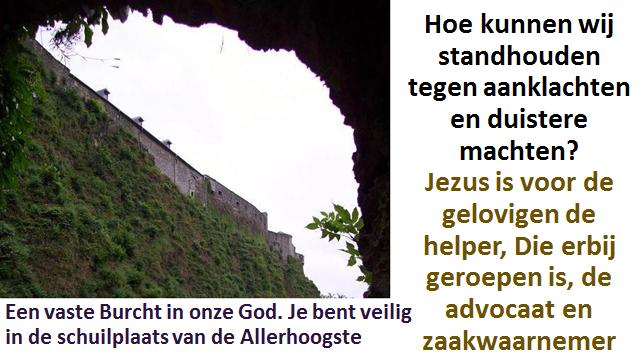 Jezus is de Voorspraak 1a