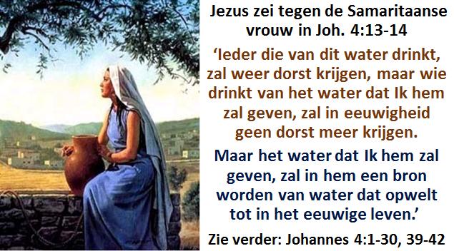 Levend water 2b Jezus en Samaritaanse vrouw