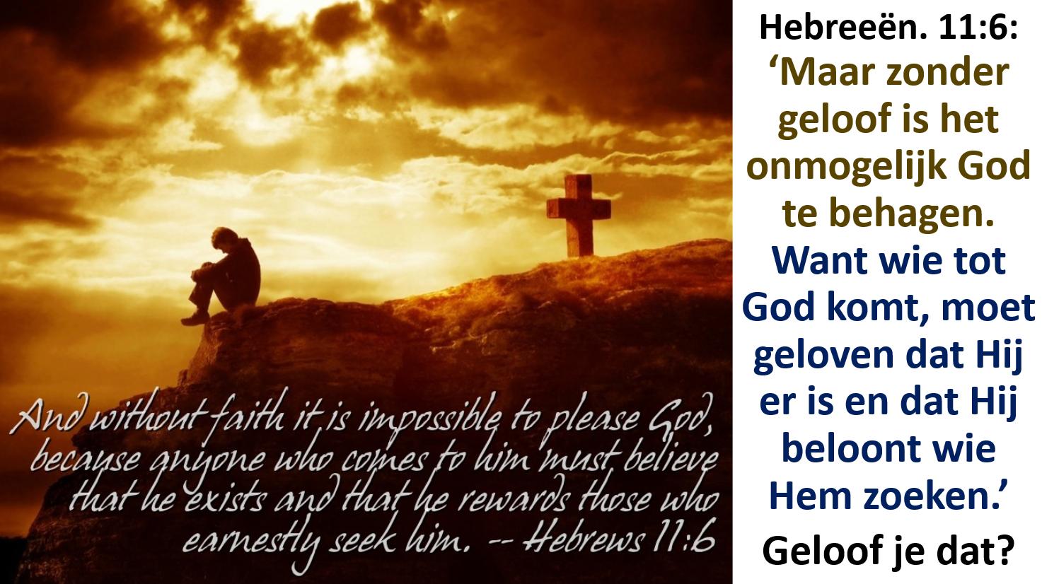 a8aaf80c2cd429 Door het geloof in Jezus worden de dingen die voor ons onmogelijk zijn